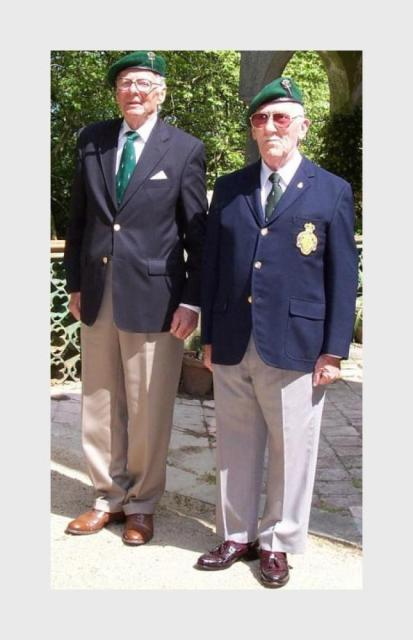 Mike Stilwell MC and Bob Bishop MC  - No.2 Commando