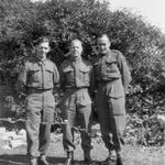 John Gallacher (left) & pals, No 9 Commando