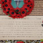 V,C,s Laid on the memorial Stone to Commando V,C. winners