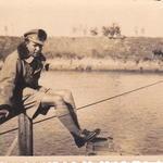 Lt Francis, guide interpreter No 9 Cdo Greece November 1944