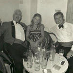 Sean and Rosina Farrelly with 41 Commando RSM Maurice Ruff Malta 1976