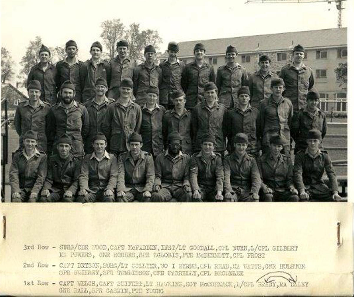 All arms Commando course March-May 1974