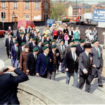 Church Parade, St Mary's Church, Bulwell, Nottingham, 9 May 1993.
