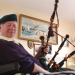 D-day Piper Bill Millin 2009