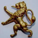 No.10 (IA) Commando 4 (Belgian) Troop cap badge.
