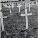 The grave of Pte. Lionel Bowman