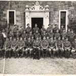 British and American Officers at the Commando Basic Training Centre