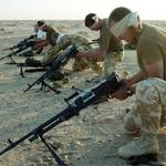 29 Commando training in Kuwait