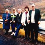 Pat White, Jan and John White, Betty and Peter Smith (2 Cdo)