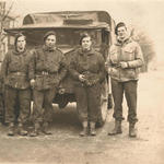 Lewis Teasdale (12 & 4 Cdo)  2nd from left and others