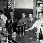 Mne George Wellman (centre) and others circa 1950-1960 (1)