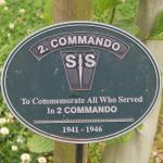 No.2 Commando Memorial Plaque at Alrewas