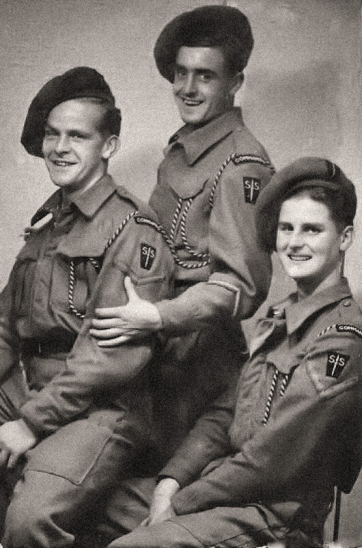 Three from No.2 Commando 4 troop