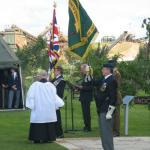 Unveiling of Army Commando Memorial