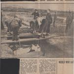 The fallen from St Nazaire being buried